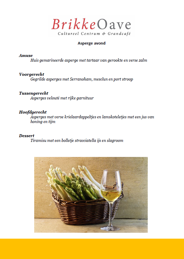 Aspergemenu website